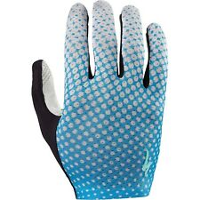 Specialized Women's BG Grail Glove - Neon Blue/Geo Crest - Small