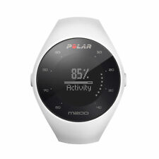 Polar M200 GPS Watch with Optical HR White