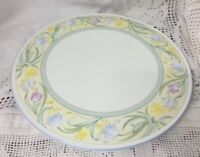 "Large Stunning Royal Worcester Gateau Cake Plate 11"" Diameter VGC Pastel Colours"
