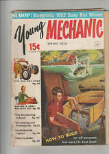 Young Mechanic Spring 1953 130 pgs. A few loose pages