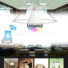 Bluetooth Intelligente LED Lampadina Musica Altoparlante E27 RGB Notte Lampada
