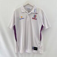 Fremantle Dockers Reebok Bankwest 2005 AFL Polo Shirt Mens Large