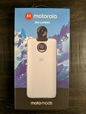 "Motorola Moto Mod 360 Camera - White - BRAND NEW! (For ""Moto Z"" Smartphones)"