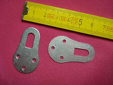 attache crochet de porte manteaux étagère cadre meuble (lot de 6) (réf G)