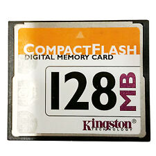 Kingston 128 MB CompactFlash Card, CF Card 128MB Kingston,CF/128,Free Shipping