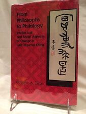 *RARE* From Philosophy to Philology SIGNED by Benjamin A. Elman 1984, HC W/DJ