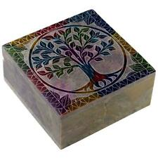Tree Of Life Soapstone Box
