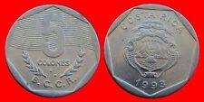 5 COLONES 1993 COSTA RICA CARIBE-22402