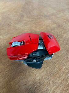 Mad Catz R.A.T. M Wireless Laser Mouse RAT M RATM
