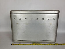 Large Vintage KampKold Aluminum Cooler Ice Chest Old Style CAMPING Beer Classic