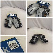 Reebok Lacrosse Elbow Pads XL Gray 7k Arm Pads Mens NWT YGI Y0-EB14