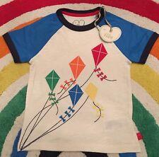 Little Bird Jools Oliver Baby Boys Girls Kite T Shirt Top New 2-3 Years