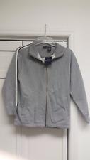 Teen Boy's Medium Gray Zippered Sweat Jacket Sonoma New w/ Tag NWT
