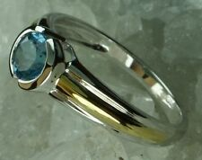 Blue Topaz Cocktail Fine Rings
