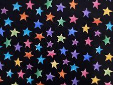 Raya del arco iris orgullo cuarto Gordo Tela Algodón ~ Ideal Para Quilting o máscaras!
