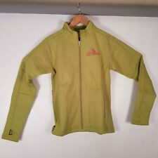 Girls Dakine Fleece Track Jacket Colour Lime Green Size Medium BNWT