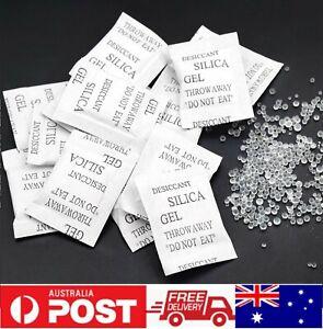 1 Gram Silica Gel Packets Moisture Absorber Reusable Desiccant Food Safe Grade