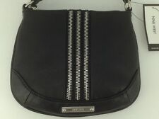 Women's NINE WEST by MACYS Black ZIPPY Shoulder Bag - $49 MSRP - 10% off
