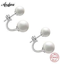 Runder Mode-Ohrschmuck mit Perle Perlen