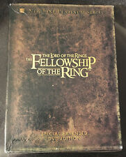 New ListingThe Lord of the Rings The Fellowship of the Ring Special Extended Ed. 4 Disc set