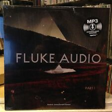 [EDM]~SEALED LP~KEDRICK JAMES~DONALD KLASSEN~Fluke Audio Part 1 (W/ MP3 Download