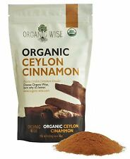 Organic Wise Ceylon Cinnamon Ground Powder, 1 lb-From a USDA Certified Organi...
