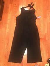NWT Women's Bodre High Neck Jumpsuit - Xhilaration(Juniors) XXL, Black