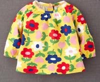 Ex Baby Boden Baby Girls Yellow Flower Jersey Top T-Shirt 0 3 6 12 18 24 Months