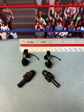 WWE Jakks Lot 4 Accessories figures Microphones Headset Announcer Head Sets