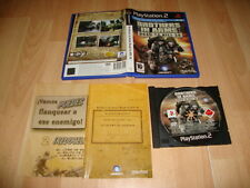 BROTHERS IN ARMS ROAD TO HILL 30 DE UBISOFT PARA LA SONY PS2 USADO COMPLETO