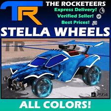 [PS4/PSN] Rocket League All Painted STELLA Import Wheels Totally Awesome Crate
