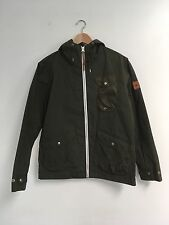 Penfield Olive Green Hudson Waxed Hooded Jacket size Medium