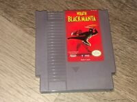 Wrath of the Black Manta Nintendo Nes Cleaned & Tested Authentic