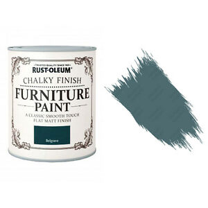 Sale Rust-Oleum Chalk Chalky Furniture Paint Chic Shabby 750ml Belgrave Matt