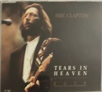 ERIC CLAPTON : TEARS IN HEAVEN - [ CD MAXI ]