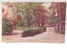 Vintage Post Card Animal Cages John Ball Park Grand Rapids, MI P24