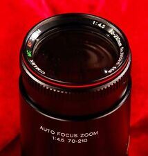for SONY MINOLTA 70-210mm f4.5 AF  AUTO FOCUS ZOOM LENS, COMPLETE