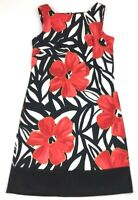 Women's ALYX Sleeveless Sheath Dress Floral Geometric Stretch Dress Size 6