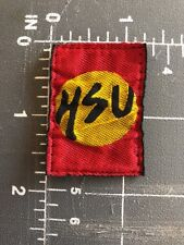 HSU Martial Arts Patch Tag Taekwondo Tae Kwon Do Judo Jujitsu Karate Uniforms