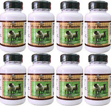 8x Sheep Placenta with Grape Seed, Collagen, Vitamin E Zinc 800capsules in total