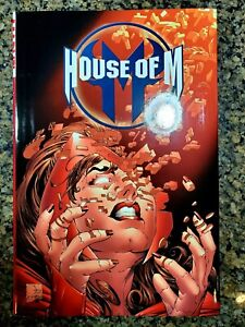 House of M Spider-Man, Fantastic Four and X-Men Hardcover.  Excellent condition!