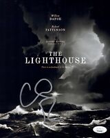 WILLEM DAFOE Signed THE LIGHTHOUSE 8x10 Photo IN PERSON Autograph JSA COA