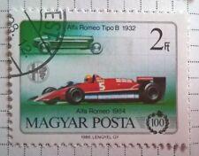 Hungary stamps - Alfa Romeo Tipo B and Alfa Romeo 1984   2 forint 1986