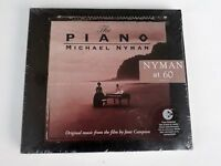 The Piano Michael Nyman Music From The Film CD Digipak 2004 Brand New Sealed