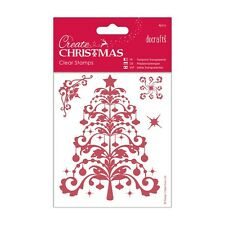 CHRISTMAS TREE Clear Stamp Set - Create Christmas Collection from Docrafts