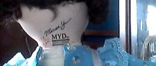 MARIAN YU DOLL/MYD/1206/COMES WITH TWO BLUE OUTFITS/BEAUTIFUL BROWN     HAIR/EYE