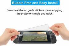 iVoler VGUARD Verre Trempé Écran Protecteur pour Nintendo Switch - Transparent (Lot de 2)