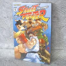 STREET FIGHTER THE COMIC 1 Manga Japan Book CAPCOM 97*
