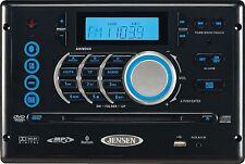 AWM968 Jensen Radio CD Bluetooth Player AM/FM/DVD/USB 12V RV Trailer Camper