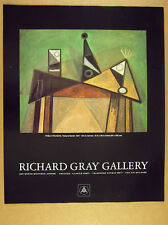 1989 Pablo Picasso 'Nature Morte' painting Chicago gallery vintage print Ad